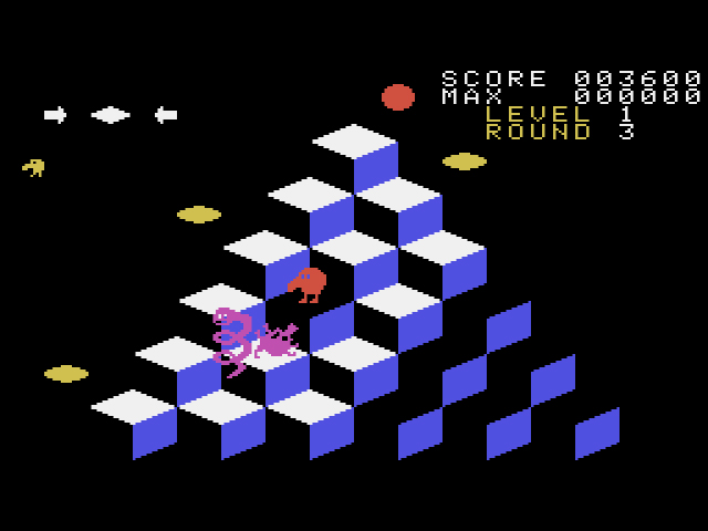 Q-bert (Japan) (Othello Multivision)001