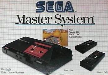Sega Master System Box