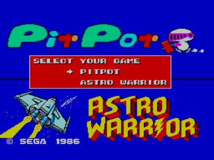 Astro Warrior & Pit Pot (E) [!]000