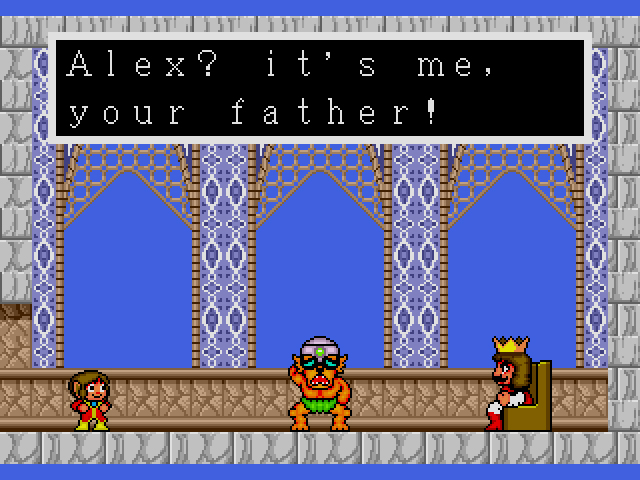Alex Kidd In The Enchanted Castle Genesis 1989 Sega Does
