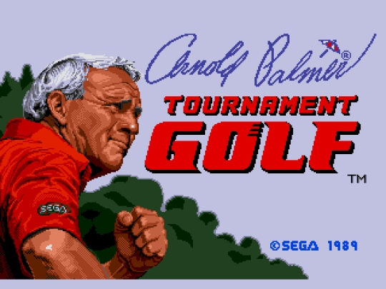 Arnold Palmer Tournament Golf (UE) [!]000