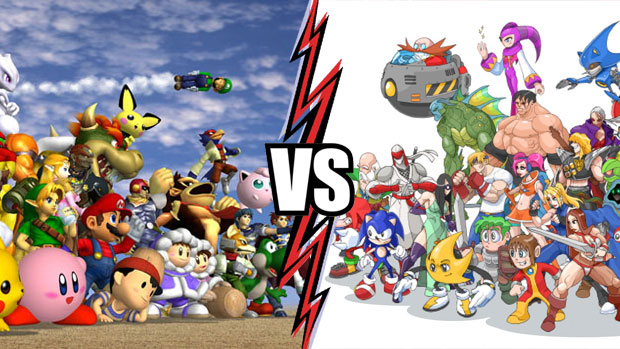 nintendo versus sega It's been a bit since we had a good console war the definition of what makes a games console seems more fluid than ever, but the gaming industry still has a penchance for entering into the sort of old school, nintendo vs sega-style throwdowns that have characterized the space for decades for most, this.