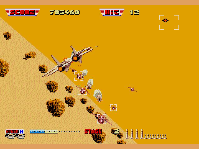 After Burner Ii Sega Genesis 1990 Sega Does