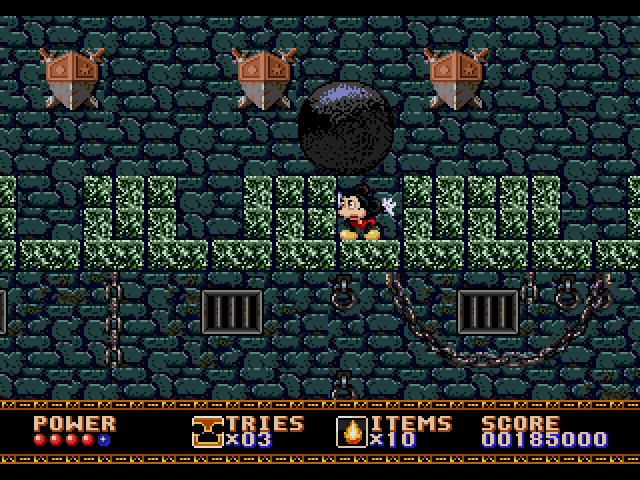 Castle of Illusion Starring Mickey Mouse (16-bit) / Genesis / 1990