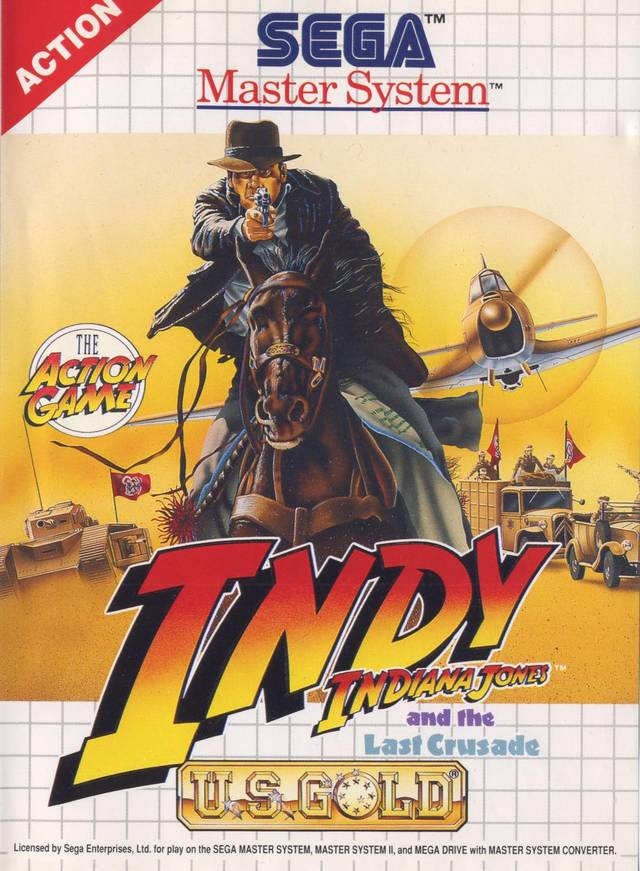 Indiana Jones and the Last Crusade / Tiertex / Master System